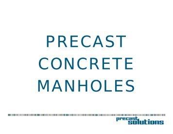 Manhole Technical Design Presentation (PDF) - National Precast ...