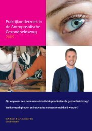 Methodologie voor de praktijk van en het onderzoek naar ...