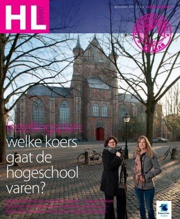 welke koers gaat de hogeschool varen? - Hogeschool Leiden