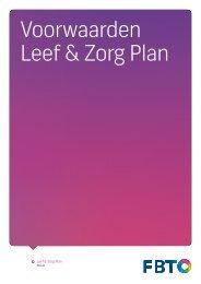 Leef & Zorgplan - Fbto