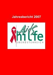 2007 pdf - Aidshilfe Oberösterreich