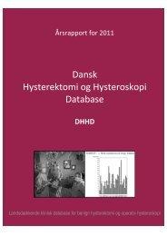 Dansk Hysterektomi og Hysteroskopi Database - DSOG