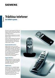 Trådlösa telefoner för HiPath-system - Syd-Com