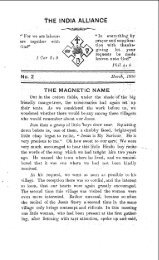 THE MAGNETIC NAME - Christian and Missionary Alliance
