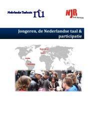 Jongeren, de Nederlandse taal & participatie - Taalunieversum