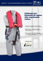 Fallskydd och flytskydd för öppna eller avgränsade ... - Capital Safety