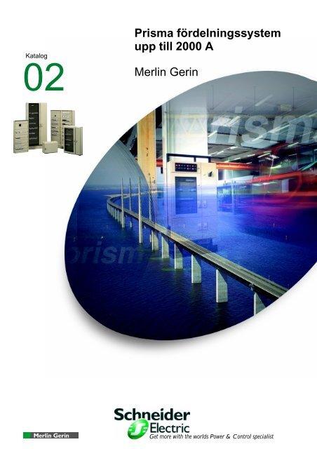Prisma G - Schneider Electric - Merlin Gerin - Square D