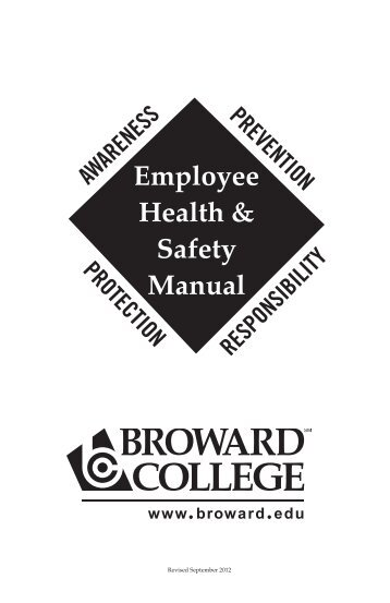 employee safety paper Student's signature (name typed here is equivalent to a signature): bridget schall employee safety, health, and welfare law paper.