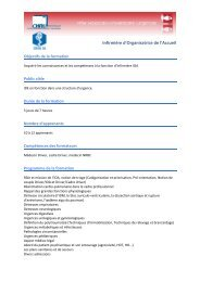 Infirmière d'Organisatrice de l'Accueil - CHU Montpellier