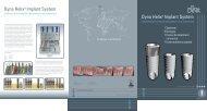Dyna Helix® Implant System Dyna Helix® Implant ... - Dyna Dental