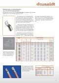 Met siliconen beklede ronde verbindingen en sterkstroom ... - Druseidt - Page 7