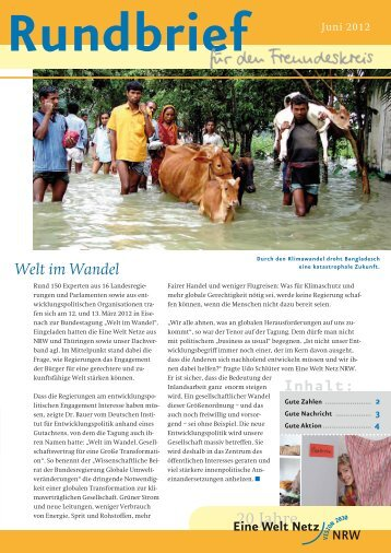 Rundbrief Juni 2012 [ 1 MB] - Eine Welt Netz NRW
