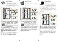 Telefunktionen TV-funktionen Datafunktionen - Schneider Electric