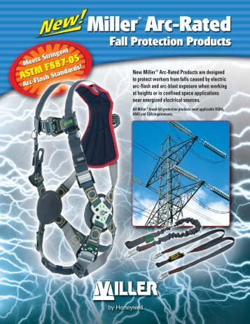 Arc-Rated Brochure:Layout 1 - Miller Fall Protection