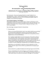 Les dokumentet her (pdf) - Det matematisk-naturvitenskapelige fakultet