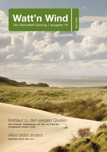 19. Ausgabe, April 2009 - NaturWatt