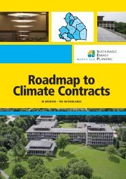 Roadmap to Climate Contracts in Drenthe (NL) - North Sea SEP