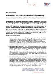 bne-Position zum download - Bundesverband Neuer Energieanbieter