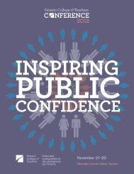 Conference 2012 Program - OPSBA