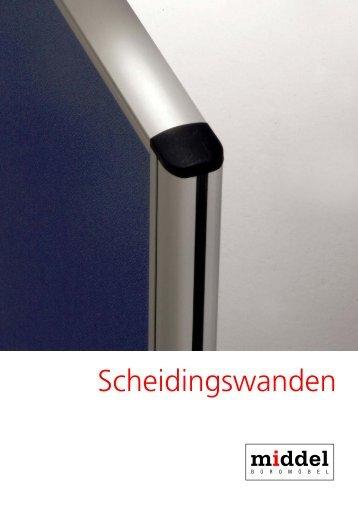 Scheidingswanden - Josef Middel Büromöbelfabrik GmbH
