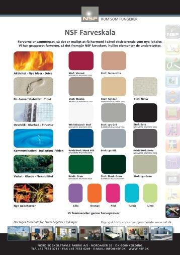 farvekort tavler - NSF