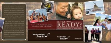 Is Your Tribe Ready? - Ready.gov