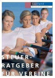 STEUER- RATGEBER FÜR VEREINE