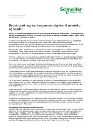 Download hele pressemeddelelsen inkl ... - Schneider Electric