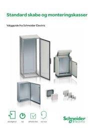 Standard skabe og monteringskasser - Schneider Electric