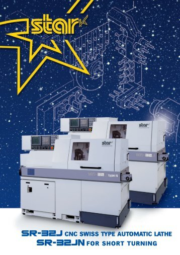 for short turning cnc swiss type automatic lathe - Star Micronics GmbH