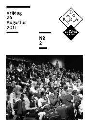Vrijdag 26 Augustus 2011 2 - Het Theaterfestival