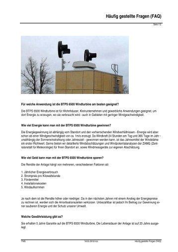 Häufig gestellte Fragen (FAQ) - Trunz Water Systems