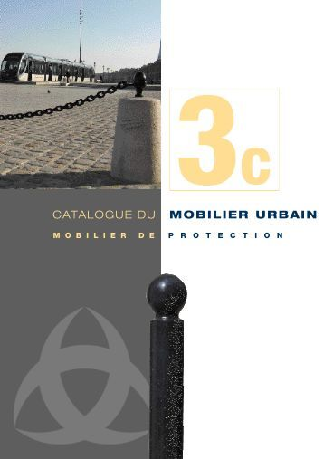 Catalogue : Mobilier de protection - Bordeaux