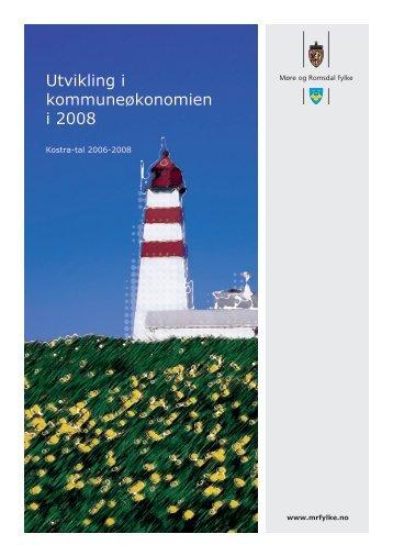 Utvikling i kommuneøkonomien 2008 - Møre og Romsdal ...