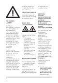 Bruksanvisning - Nilfisk PARTS - Page 2