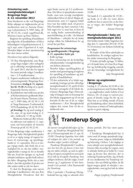Kirkebladet nr. 3-2012 Efterår - Alt er vand ved siden af Ærø