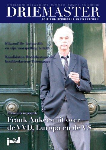 Frank Ankersmit over de VVD, Europa en de VS - Bandwerkplus.nl