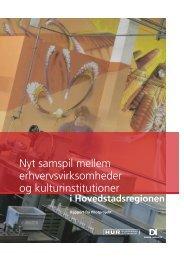 Nyt samspil mellem erhvervsvirksomheder og kulturinstitutioner - DI