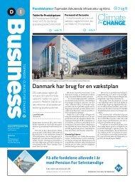 Danmark har brug for en vækstplan - Dansk Industri