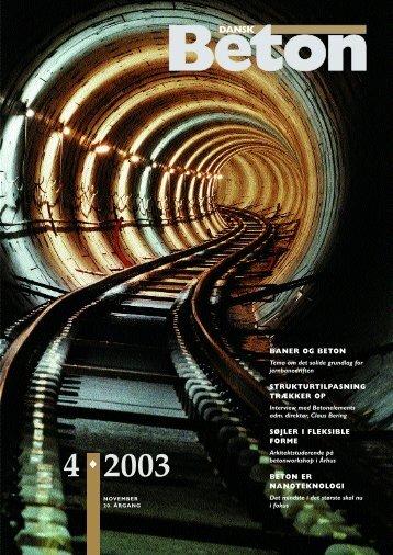 Download blad nr. 4-2003 som pdf - Dansk Beton