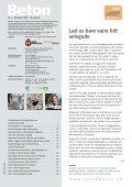 At støbe gulve er i superligaen Superlette dæk klarer ... - Dansk Beton - Page 3