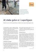 At støbe gulve er i superligaen Superlette dæk klarer ... - Dansk Beton - Page 6