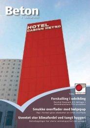 Forskalling i udvikling Smukke overflader med ... - Dansk Beton