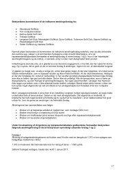 Bestyrelsens kommentar til ændringsforslag - Dansk Golf Union
