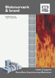 Blokmurværk & brand - Dansk Beton