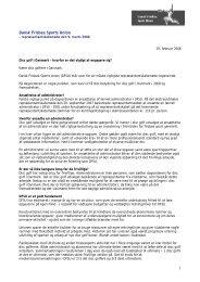 dette dokument - Dansk Frisbee Sport Union