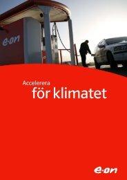 Accelerera för klimatet - E-on