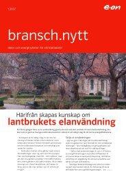Bransch.nytt 1 - E.ON