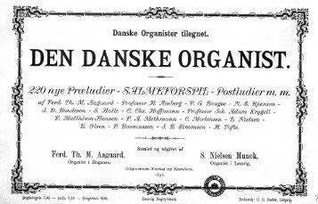 Den danske Organist