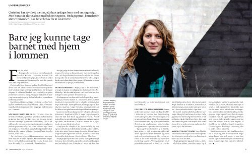 Dorthe Jørgensen frygtede, at hendes datter ville blive fjernet ... - Bupl